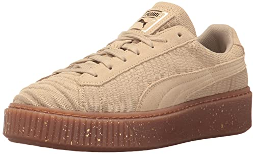 PUMA Women s Basket Platform OW Wn, Safari-Safari-Whisper White, 5.5 M 29f164b223