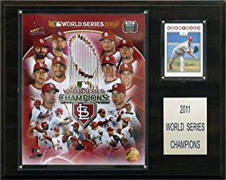 product image for St. Louis Cardinals 2011 World Series 12 x 15 Plaque
