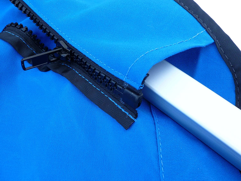 SUMMERSET by Eevelle Premium Bimini 4 Bow Canvas Top SS-4B103 - BLK-Parent
