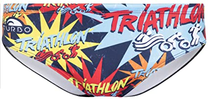 Turbo Triathlon New Star - Bañadores Hombre Talla M | US 32 2018