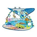 Disney Baby Mr. Ray Ocean Lights Gimnasio de actividades