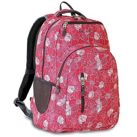 J World New York Carmen Laptop Backpack, Aloha, One Size