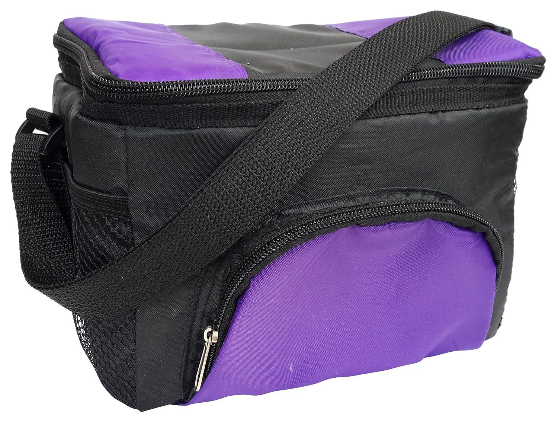 Outdoor optimale auslaufsichere Soft klappbar Isolierte Lunch-Box mit 3 Taschen