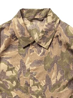 Liberty Print Coaches Shirt Jacket 51-18-0210-012: Olive Drab