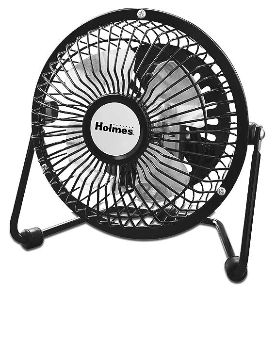 Amazon Com Holmes Mini High Velocity Personal Fan Hnf0410a Bm