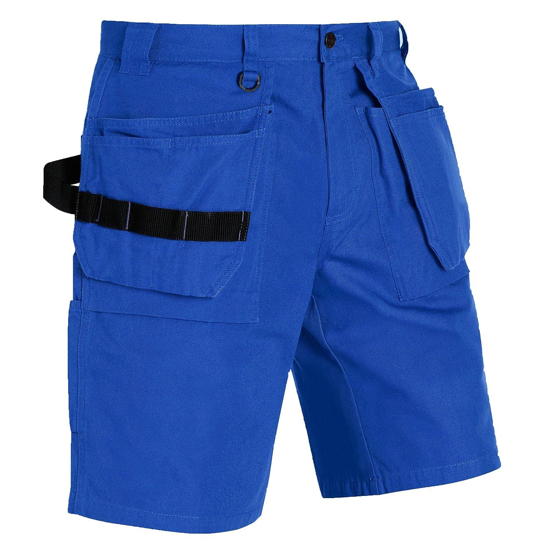 Blakläder 153418608500C62Größe C62Handwerker Shorts–Kornblume blau