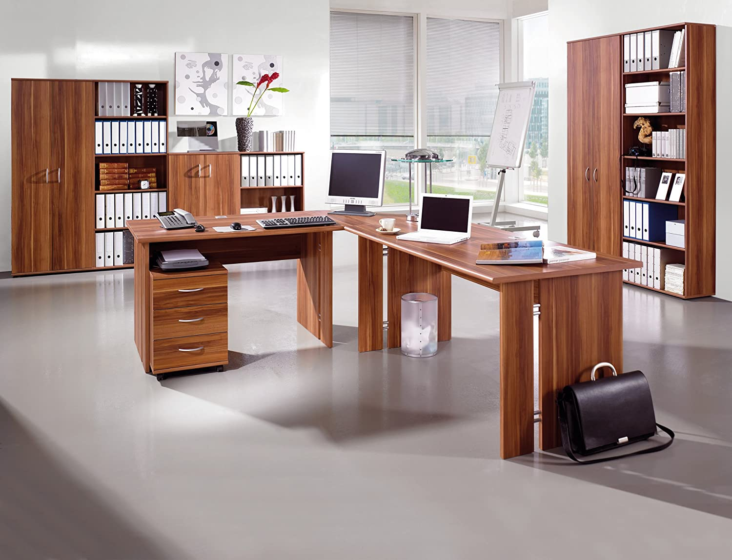 Büro walnuss Woody 121-00232