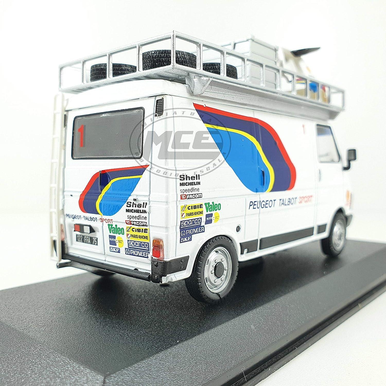Desconocido 1//43 Citroen C35 Phase 2 Asistencia Team Peugeot Talbot Sport 1983-86