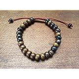 Amazon Price History for:Tibetan Dark Yak Bone Wrist Mala/ Bracelet for Meditation