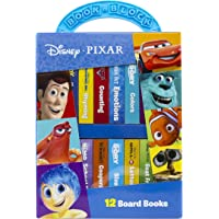Disney Pixar - My First Library 12 Board Book Block Set - PI Kids