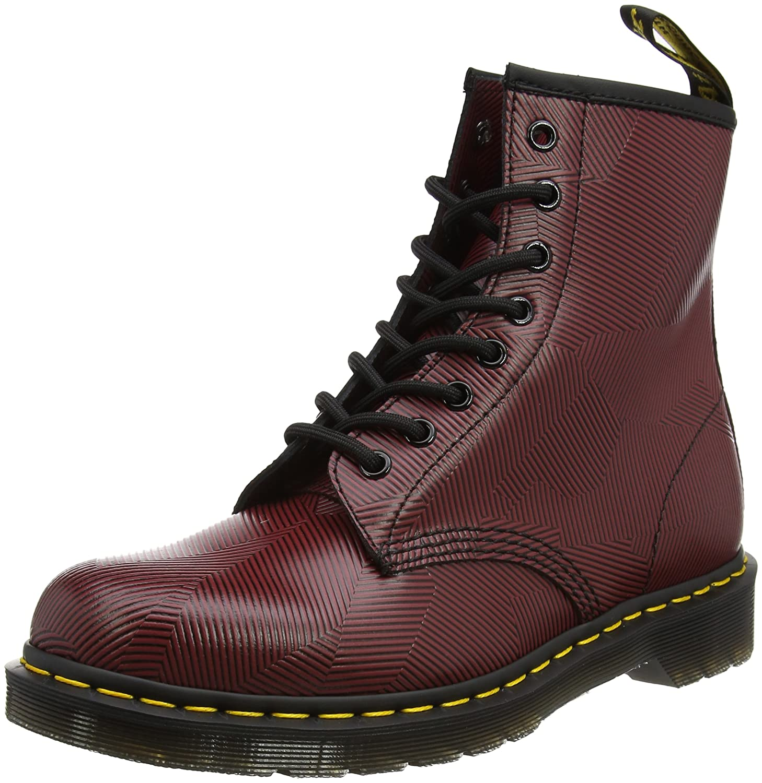 Dr. Martens 1460 8 Eye Boot B01NANS7YF 9 M UK / 10 D(M) US|Oxblood, Black
