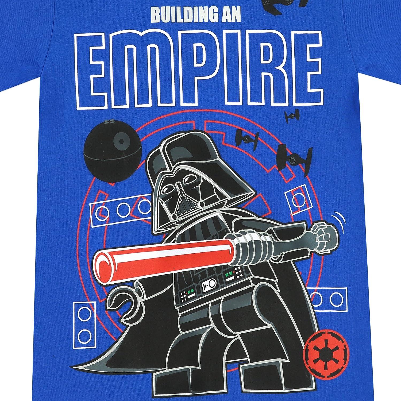7cc451d48 Amazon.com: LEGO Star Wars Boys Darth Vader T-Shirt: Clothing