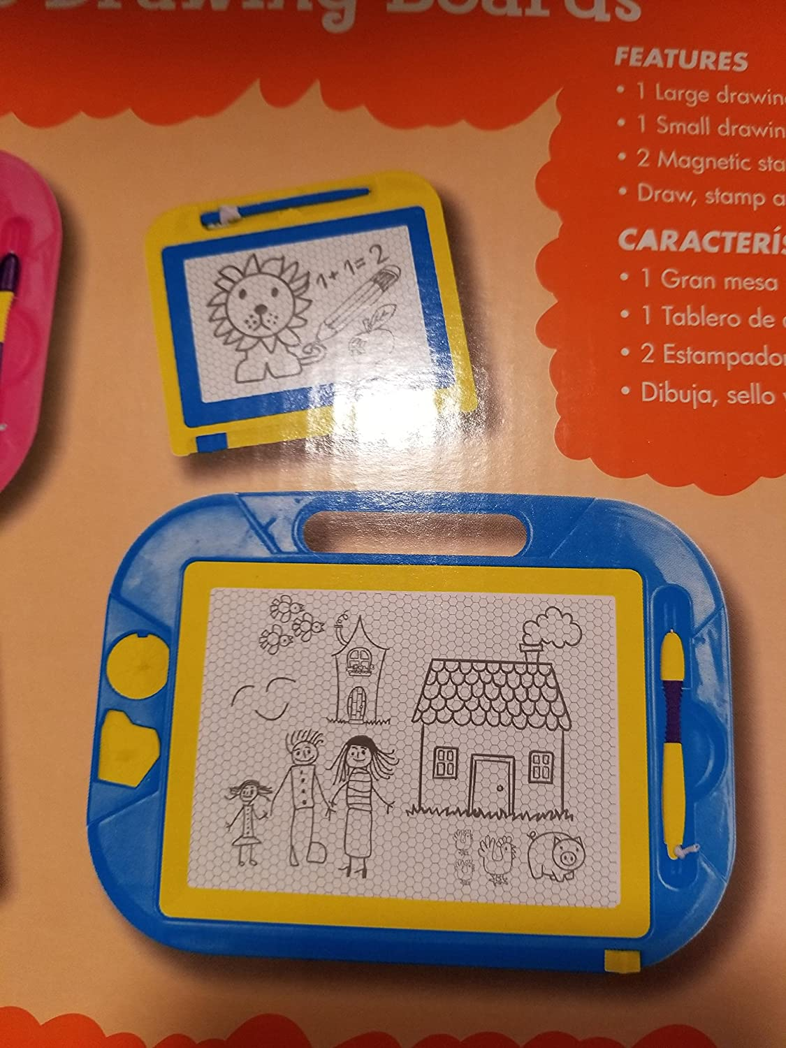 MAGNETIC DRAWING BOARDS Just Kidz