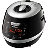 Cuckoo CRP-HY1083F 10 cup Induction Heating Pressure Rice Cooker – 18 built-in programs including Glutinous (White), GABA, Mi