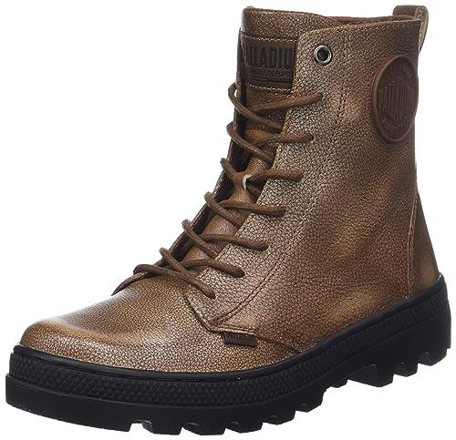 Palladium Pallabosse Off Lea, Botines para Mujer: Amazon.es: Zapatos y complementos