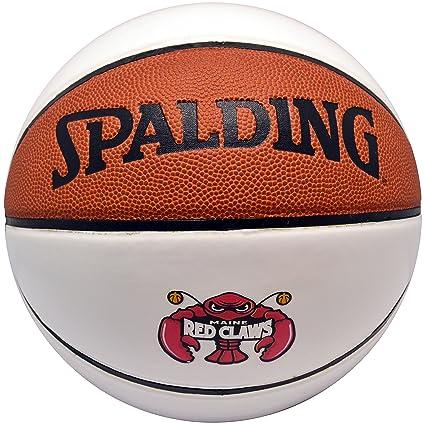 Amazon.com: Spalding NBA Autógrafo pelota y Maine Rojo Claws ...