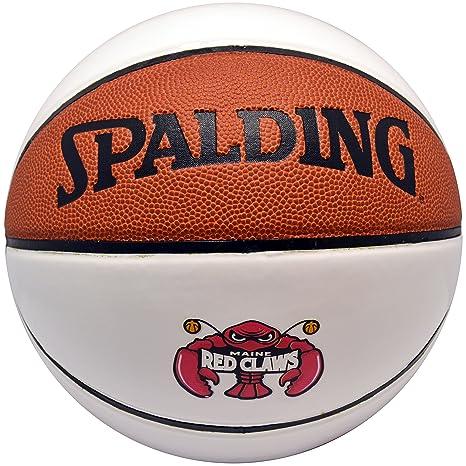 Spalding NBA - Balón de baloncesto de autógrafos Maine garras rojo ...
