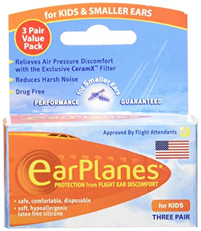 .com: original children's earplanes by cirrus healthcare ear ...