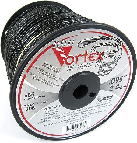 Amazon.com: Vortex línea de Trimmer comerciales .095 3-lbs ...