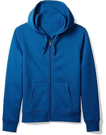 331d1f178b Amazon Essentials Men's Full-Zip Hooded Fleece Sweatshirt