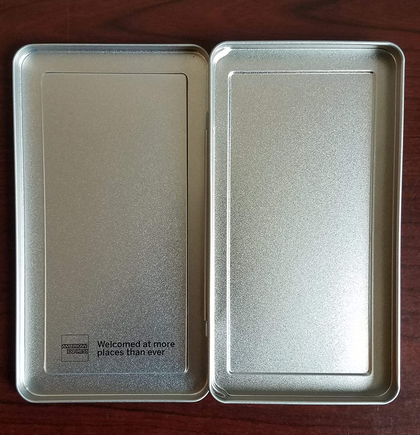 5 Pack - American Express Tin Check Presenter for Restaurants