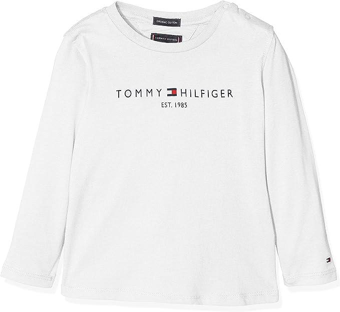 Tommy Hilfiger Essential Hilfiger tee L/S Camisa Manga Larga para ...
