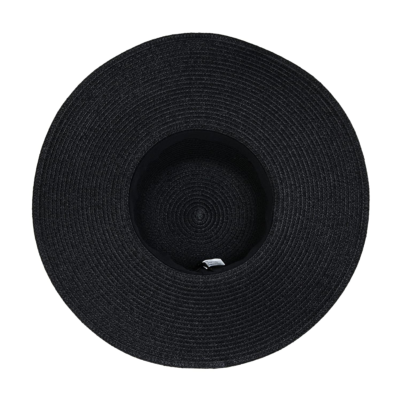 Large Floppy Festival Sun Hat Tribal Aztec Band Tassel Trim UPF 50 Protection