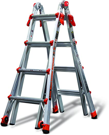 Little Giant 17-Foot Velocity Multi-Use Ladder, 300-Pound Duty ...