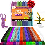 Pipe Cleaners - 350 pcs Chenille Stems for DIY Art, 30 Assorted Colors Pipe Cleaners for Decorations and Creative Crafts…