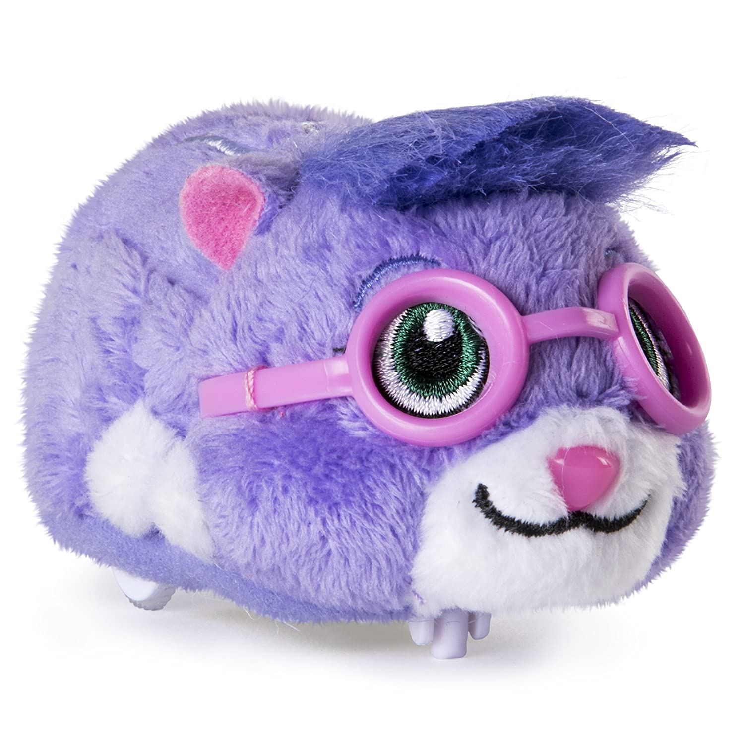 "Zhu Zhu Pets Num Nums Furry 4"" Hamster Toy with Sound and Movement"