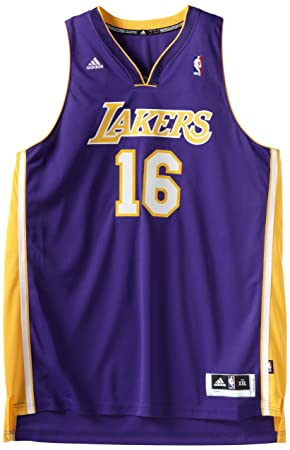 3cf227ef792 norway adidas pau gasol 16 los angeles lakers swingman nba jersey purple m  2b9fc 0e174