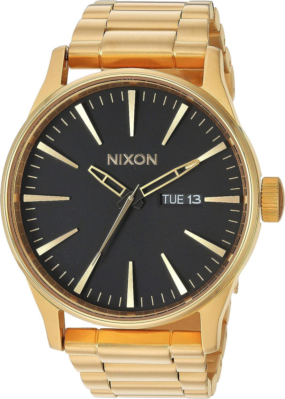 Nixon Reloj de Acero Inoxidable Sentry para Hombre A3561