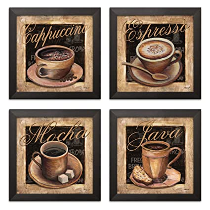 Amazon Com Lovely Vintage Espresso Cafe Latte Cafe Mocha
