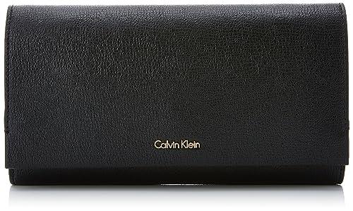 Calvin Klein - Instant Clutch On Chain, Carteras de mano Mujer, Negro (Black