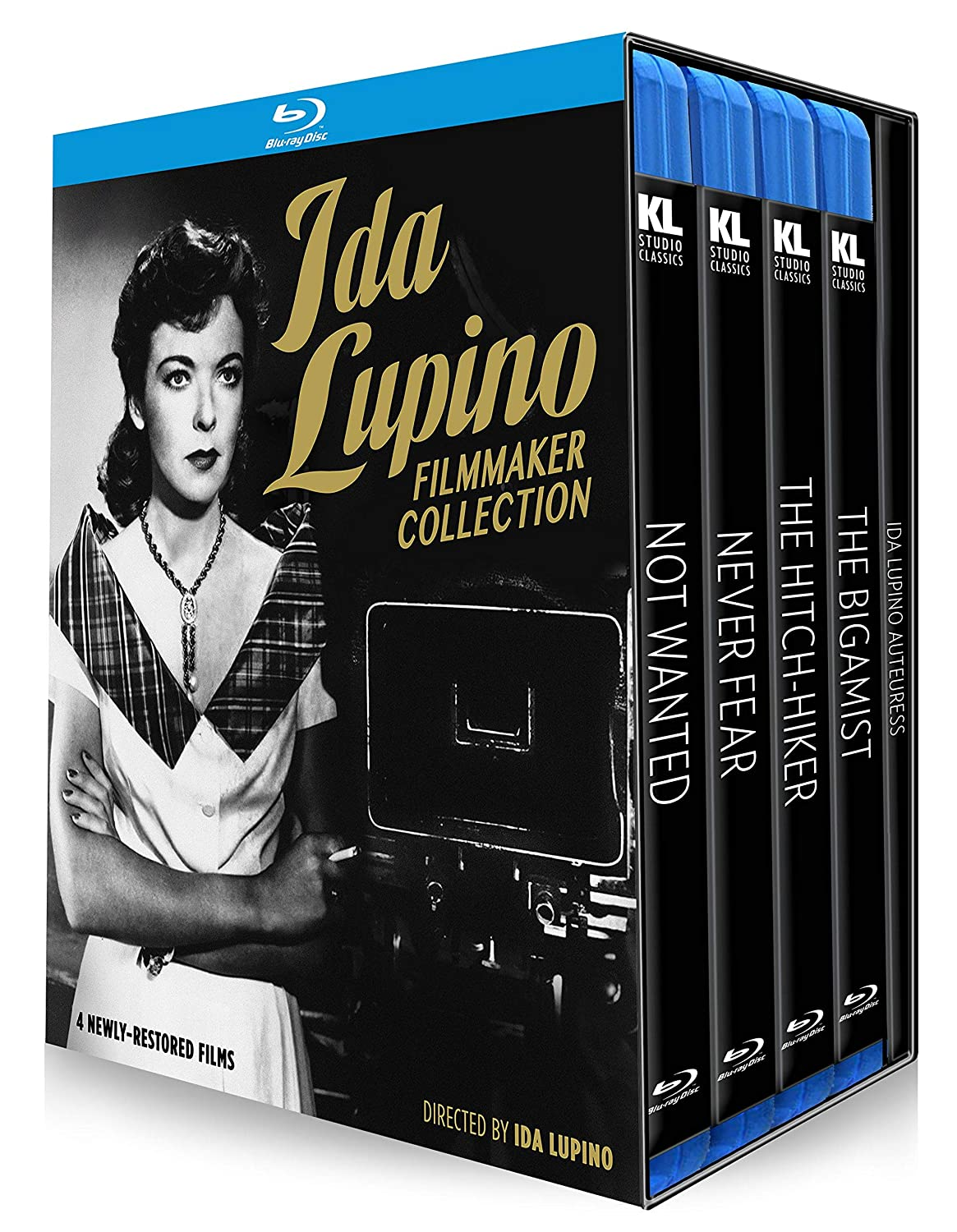 Ida Lupino: Filmmaker Collection [Not Wanted / Never Fear / The Hitch-Hiker / The Bigamist] [Blu-ray]