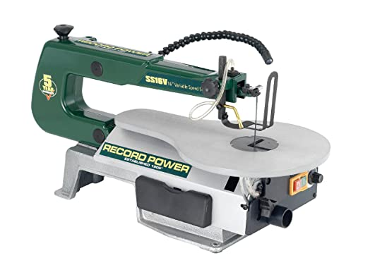 Record power ss16v scroll saw 16 inch amazon diy tools record power ss16v scroll saw 16 inch greentooth Choice Image