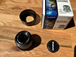 Olympus M. Zuiko Digital ED 45mm f1.8 (Black) Lens for Olympus and Panasonic Micro 4/3 Cameras