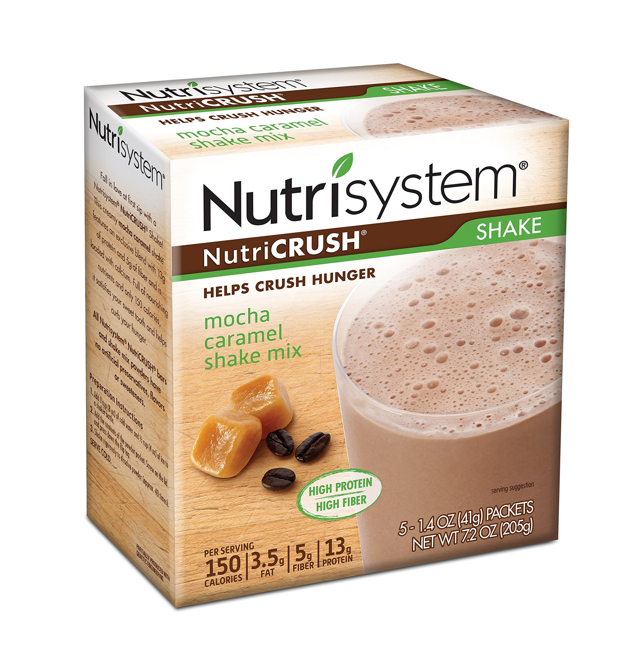 Nutrisystem® NutriCRUSH® Mocha Caramel Shake Mix, 20 ct. LIMITED TIME ONLY PROMOTION by Nutrisystem
