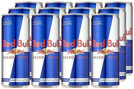 Red Bull Kühlschrank Licht : Red bull energy drink dosen getränke er palette einweg x