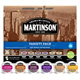 Martinson Coffee Capsules, Variety Pack for Keurig K-Cup Brewers, 36 Count, compatible with Keurig K-Cup Brewers
