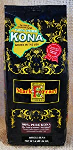 Mark Ferrari Specialty Coffees 100% Pure Kona Coffee