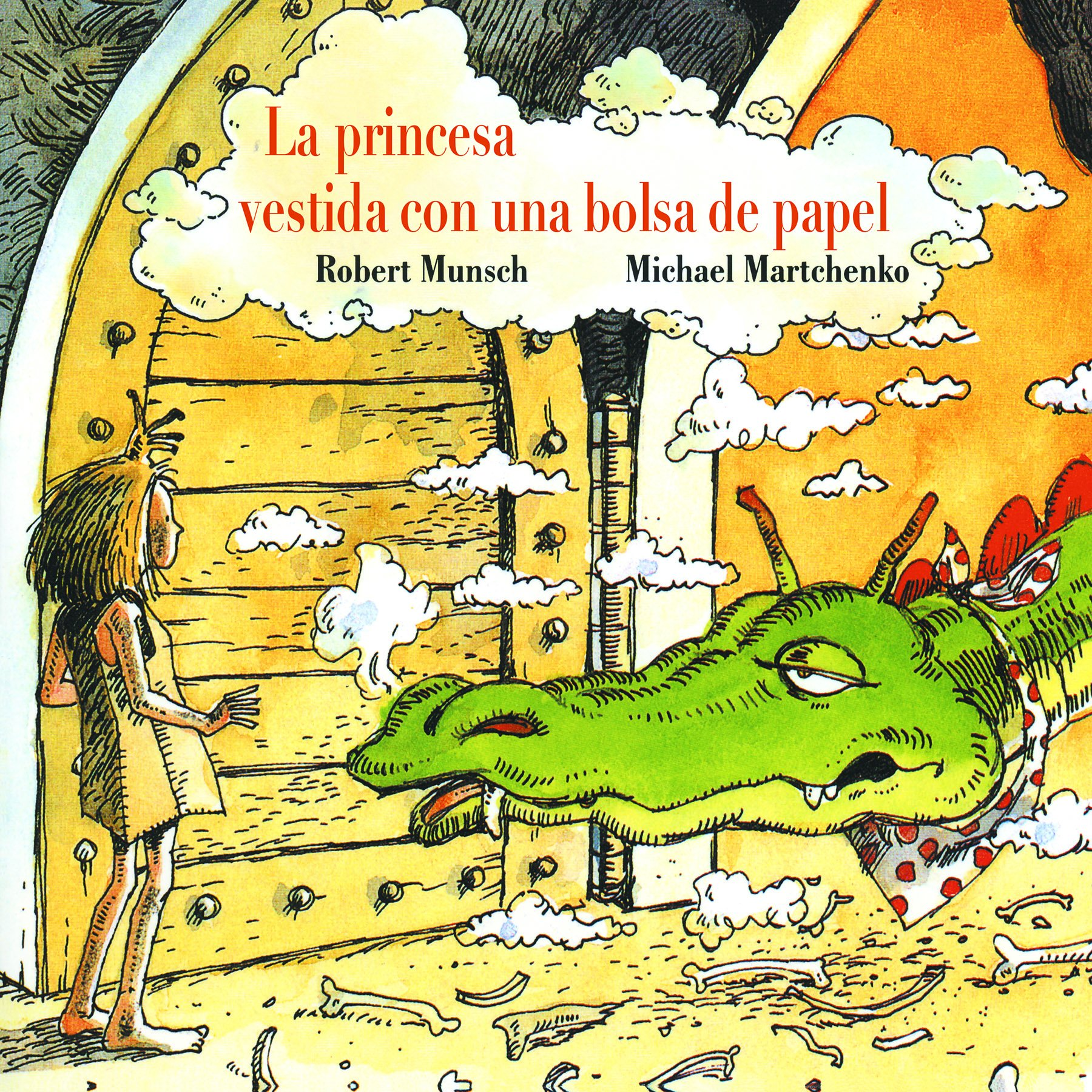 La princesa vestida con una bolsa de papel Tapa blanda – 1 may 1992 Robert Munsch Michael Martchenko Annick Pr 1550370987