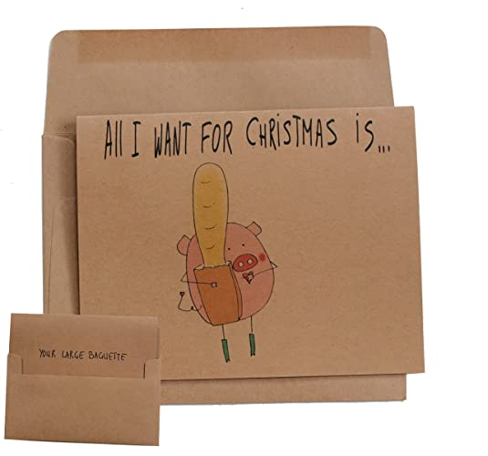 Amazoncom Naughty Christmas Card For Boyfriend Sexy Greetings