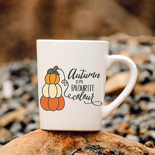 Amazon Com Autumn Coffee Mug Autumn Is My Favorite Color Mug Kitchen Dining