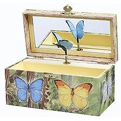 Butterflies Music Box
