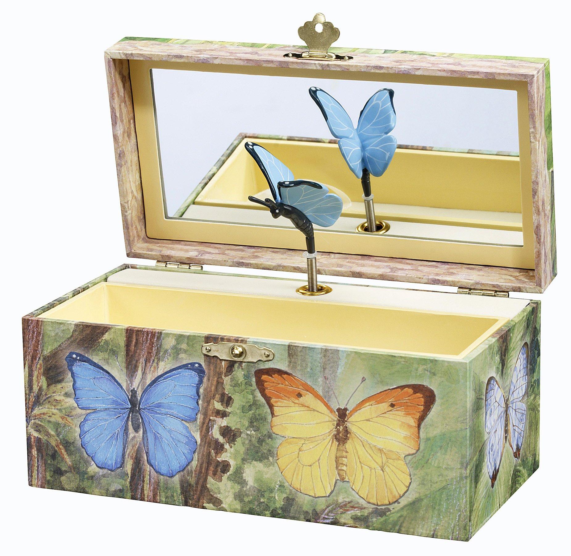 Enchantmints Butterfly Music Jewelry Box