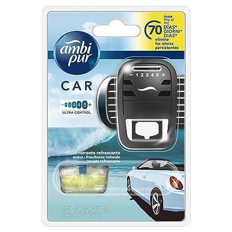 Ambi Pur Car Torrente Refrescante Difusor Y Fragancia para Ambientador - 7 ml