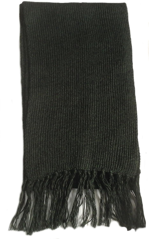 Alpakaandmore Unisex Alpaca Wool Scarf Unicolor 63x 4.72 ALP101j-lh