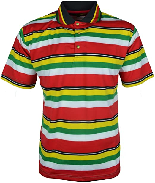para Hombre Rasta Polo T-Camiseta de Manga Corta Diseño de león de ...