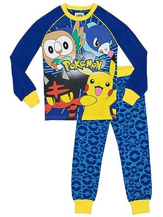 Pokemon Jungen Schlafanzug - Slim Fit